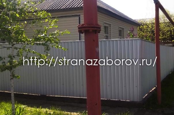 Заказать забор из профнастила в Балашихе