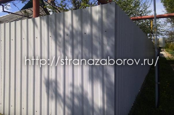 Видное: заказать забор из профнастила
