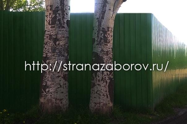 Промышленное ограждение в Жуковском и Москве от Страны Заборов